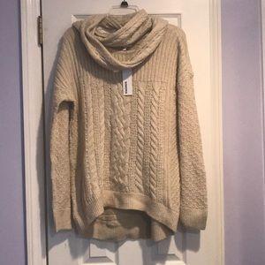 Cozy SONOMA sweater NWT